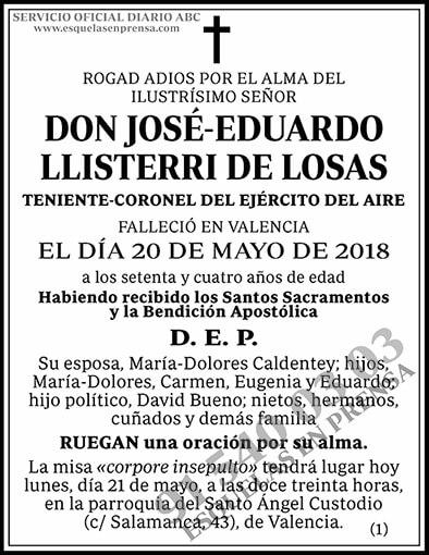 José-Eduardo Llisterri de Losas